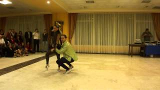 Best SALSA Pachanga Show in the WORLD | Amazing Crazy dance 2014