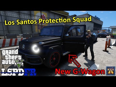 Los Santos Protection Squad Patrol In A Mercedes G-Class | GTA 5 LSPDFR Episode 435