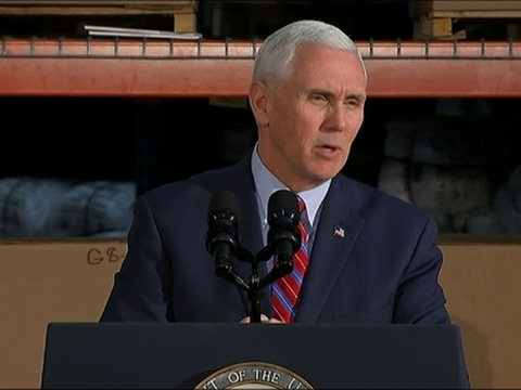 Pence Touts Health Care Overhaul in Kentucky