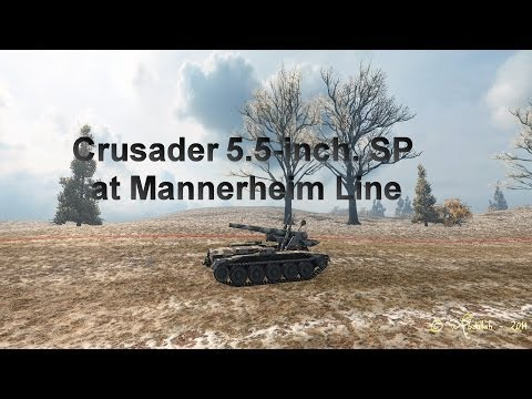 Crusader 5inch at Mannerheim line