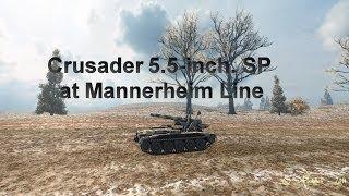 Crusader 5inch at Mannerheim line