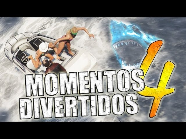 GTA V - Momentos Divertidos #4 (Funny Moments) (GTA 5) Videos De Viajes