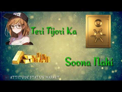 Teri Tijori Ka Sona Nahi Dil Hamara Khilona Nahi Whatsapp Status // Amir Khan
