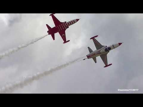 Turkish Stars aerobatic team. F-5 Freedom Fighter. Forum ARMY-2017