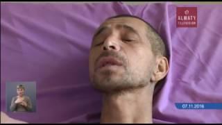 в Алматы мужчина, потерявший память, нашел своих родных (15.11.16)