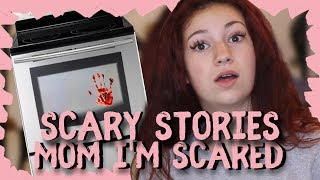 "Danielle Bregoli Reacts to Scary Story ""Mom I'm Scared"""