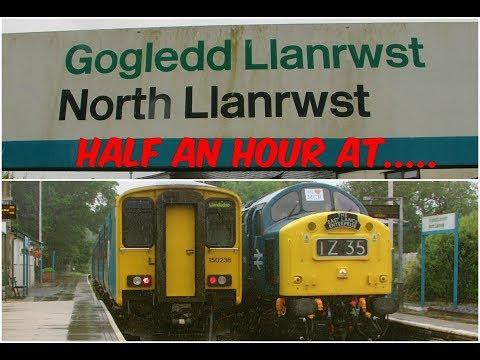 Half an Hour at (236) - North Llanrwst Station 10.6.2017 - Class 37 40 150
