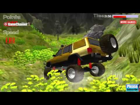 Mad Offroad 3D , 4x4 Truck Vehicles, Unity 3D Truck Games, Flash Online Gameplay
