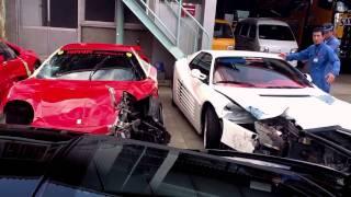 フェラーリ8台!次々とクラッシュ― 事故 Ferrari Crush thumbnail