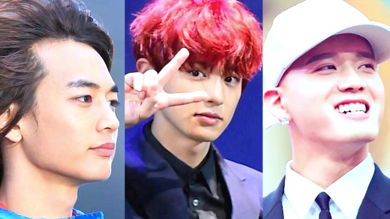 Kpop Idols Going Bald Youtube