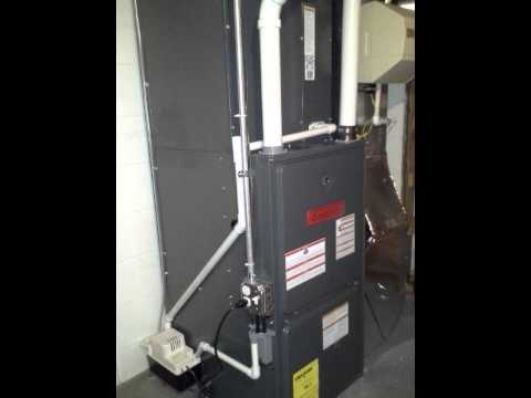 Goodman High Efficiency Gas Furnace Installation Youtube