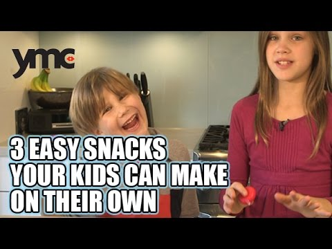 3 Easy Snacks Your Kids Can Make On Their Own