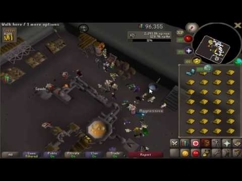Advanced Blast Furnace Gold Smithing Guide | Max 340-350k Smithing xp/h!