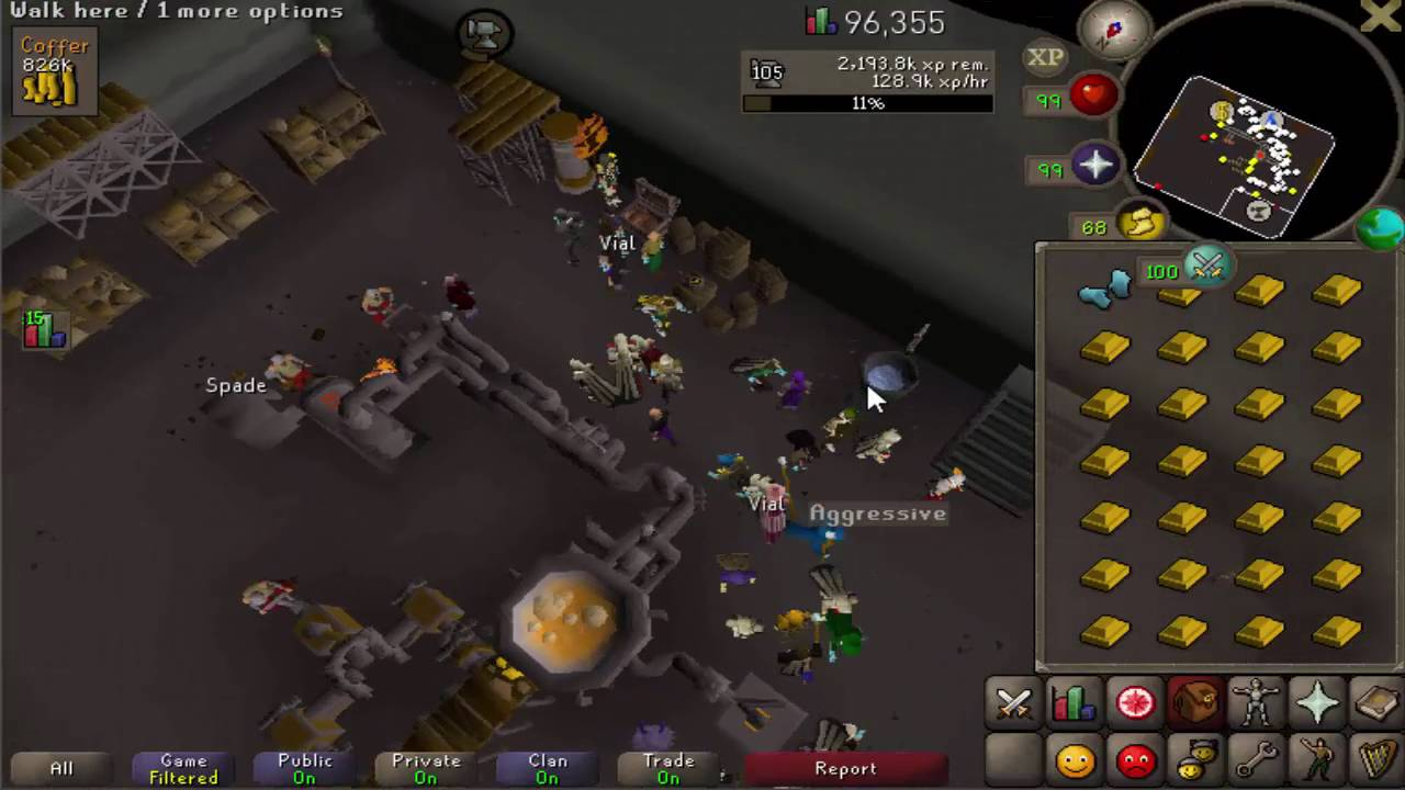 advanced blast furnace gold smithing guide max 340 350k smithing