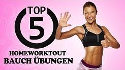 Homeworkout! Die 5 besten Übungen für einen flachen Bauch