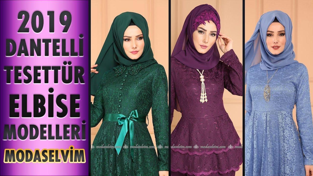 c0c37a4e1e52b ModaSelvim Dantelli Tesettür Elbise Modelleri 2019 | Ruched Hijab Dress  Models | #tesettür #elbise - Смотреть видео бесплатно онлайн