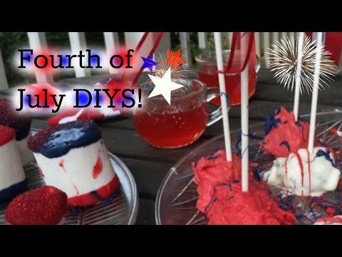Fourth Of July DIY Dessert Ideas!
