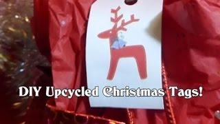DIY Recycled/Upcycled Christmas Gift Tags! Thumbnail