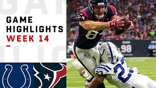 Colts vs. Texans Week 14 Highlights | NFL 2018