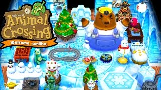Animal Crossing New Leaf - Welcome amiibo - Winter Solstice & Gold Shovel - 3DS Gameplay Walkthrough