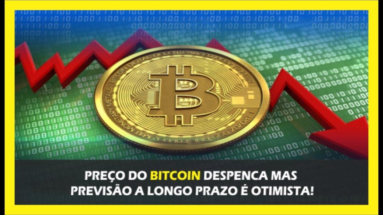 PREÇO DO BITCOIN DESPENCA MAS PREVISÃO A LONGO PRAZO É OTIMISTA!