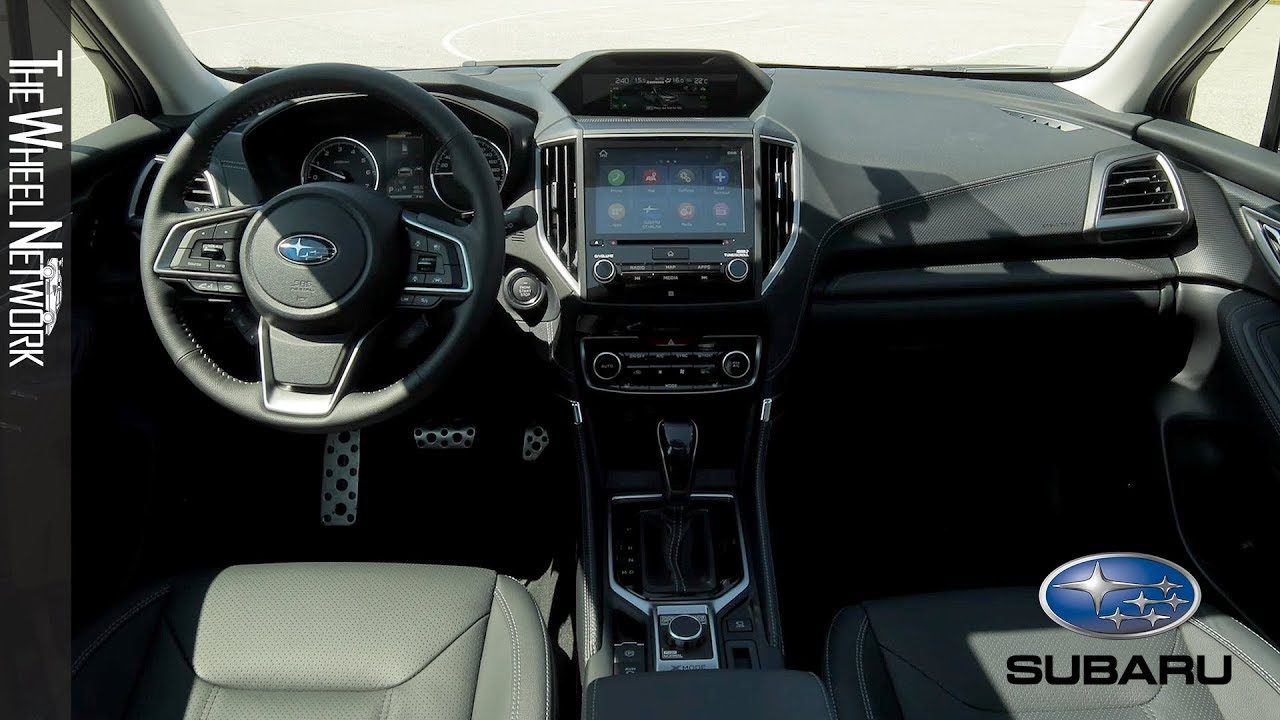 2020 Subaru Forester E Boxer Interior Youtube
