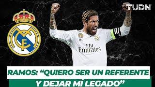 Exclusiva | Sergio Ramos habla sobre su historia en el Madrid | TUDN