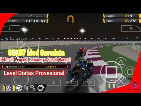 Download SBK07 Update Savedata Difficult Extreme/Legend (Musuhnya Lebih Susah) By Brambank - SBK07 Indonesia