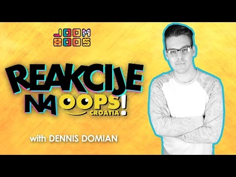 EKSPLODIRAO MU SPREJ U FACU 😂 🙉 🙊 | Dennis Domian / OOPS Croatia!