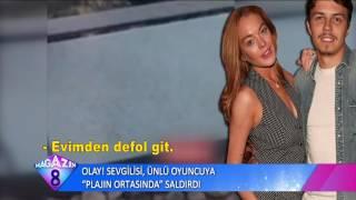 Olay Sevgilisi Ünlü Oyuncuya Plajın Ortasında Saldırdı