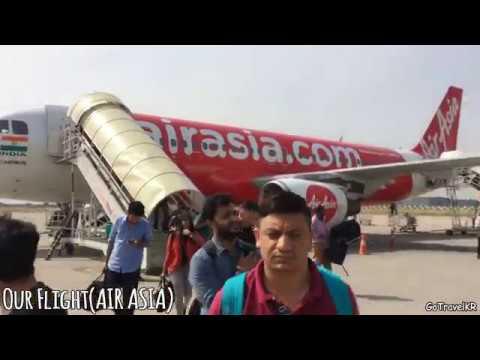 Bangalore To Chandigarh | Air Asia Flight | Chandigarh Airport