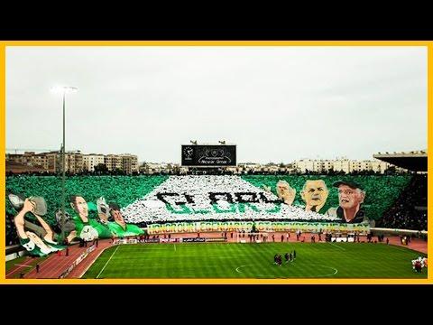 Tifo Green Boys : Raja Casablanca vs. Kaizer Chiefs