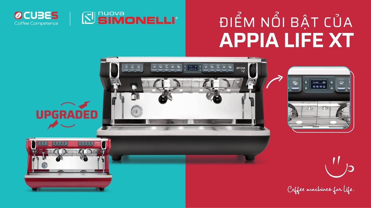 Nuova Simonelli Appia Life XT | Máy pha cafe chuyên nghiệp Ý dành cho quán