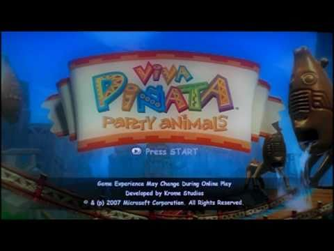 Review of Viva Piniata Party Animals for Xbox 360 by Protomario