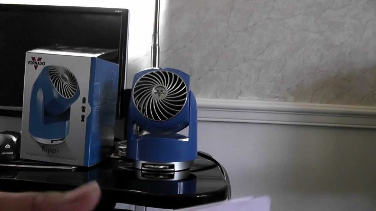Vornado Flippi V6 Personal Air Circulator : Vornado flippi v personal air circulator fan in blue