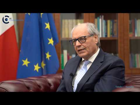 South EU Summit Interview With Maltese Minister Of Finance - Scicluna Video (Part 1)