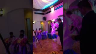 Jay-R and lanie wedding reception at casa burgos sta maria bulacan december 30,2016