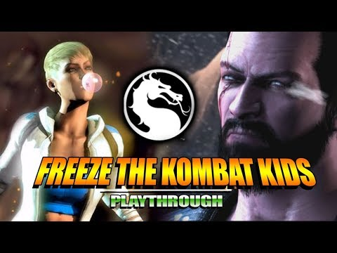 FREEZE THE KOMBAT KIDS : Story Mode - Mortal Kombat X (Part 3) thumbnail