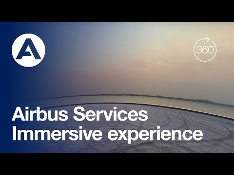 Welcome on board your Airbus Services immersive experience
