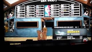 NBA 2K11: Wii MyPlayer Draft
