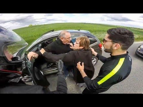 CRAZY ROAD RAGE | STUPID ANGRY PEOPLE vs BIKERS | MOTORCYCLE ROAD RAGE