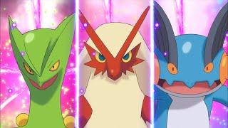 Bande-annonce en dessin animé de Pokémon Rubis Oméga et Pokémon Saphir Alpha