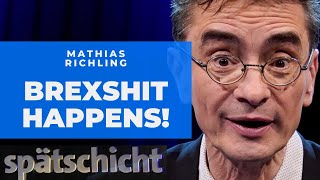 Mathias Richling: Warum der Brexit eine Lüge ist | SWR Spätschicht
