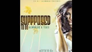 "Lil D ""Supposed To Do"" (Feat. AllWorldx & Tease) Produced By Smiley On The Beat"