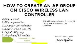 Comment Créer un Groupe AP Cisco WLC