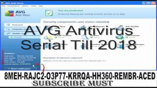 avg internet security + antivirus 2012 till 2018