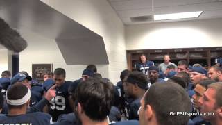 Inside the Winning Locker Room - Penn State 43, Michigan 40 (4OT)