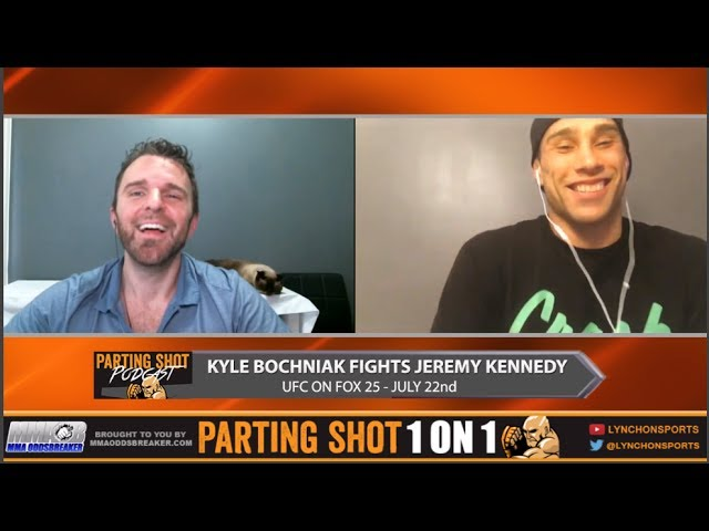 UFC on FOX 25's Kyle Bochniak says he'll submit Jeremy Kennedy in the 2nd round