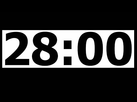 28 Minute Countdown Timer with Alarm
