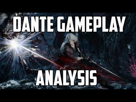 Devil May Cry 5 Dante Gameplay Analysis